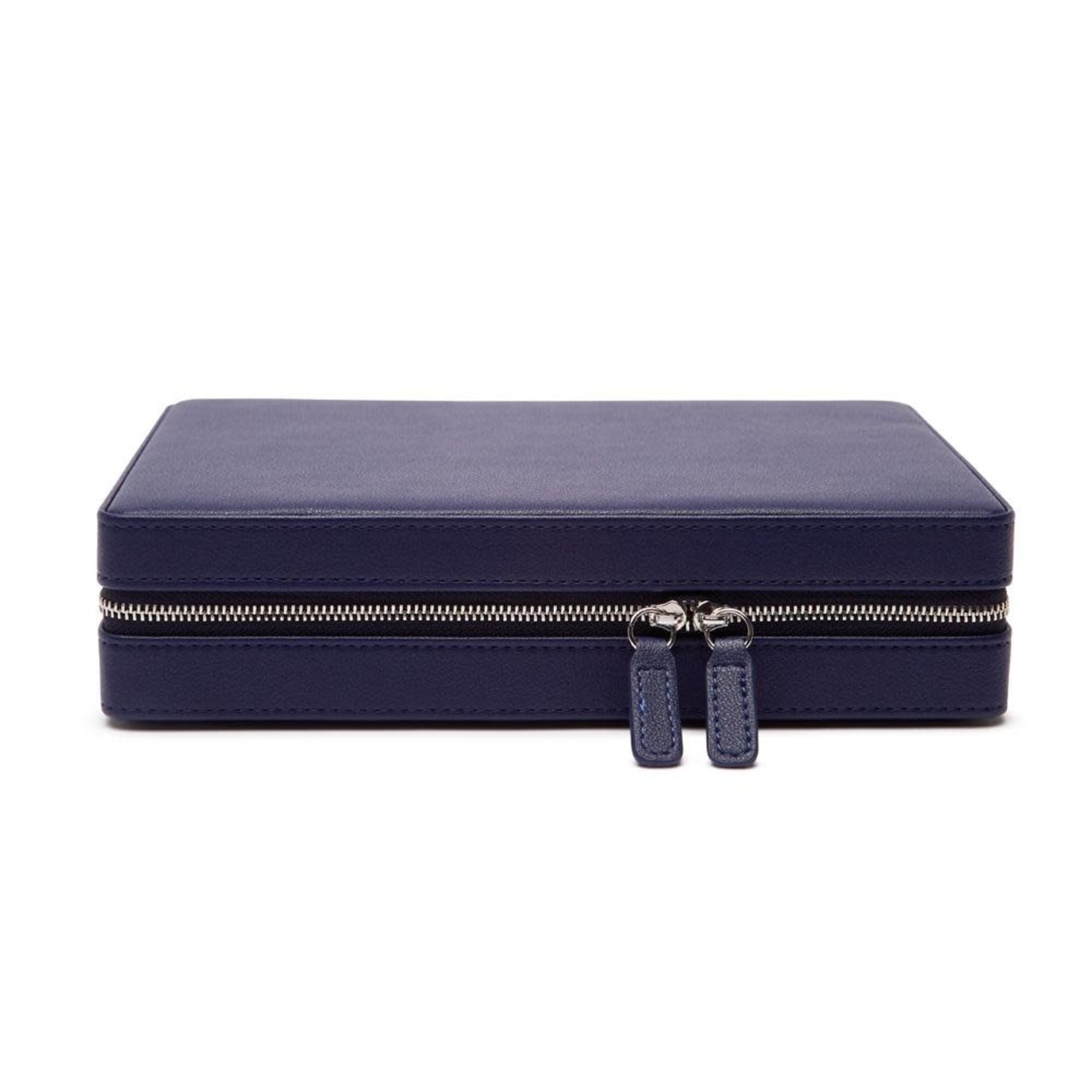 Brouk & Co The Luna Large Travel Jewelry Case Navy
