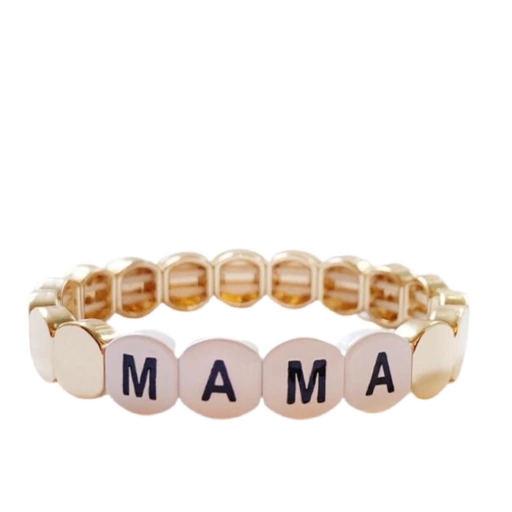 Caryn Lawn Word Tile Bracelet Mama