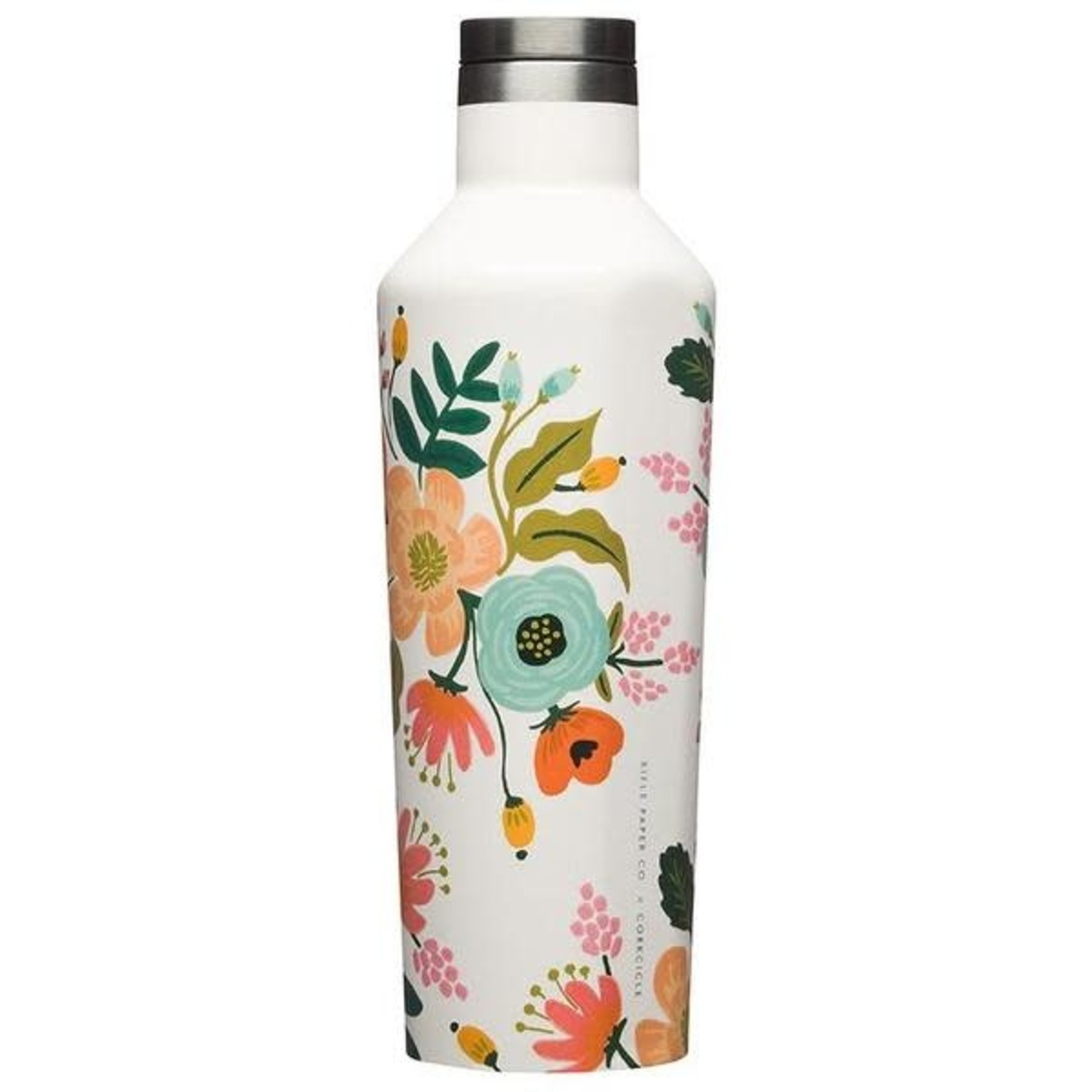 Corkcicle Canteen Rifle Paper Gloss Cream/Lively Floral 16oz