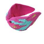 Treasure Jewels Aztec Pink Headband