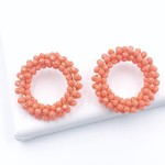 Treasure Jewels Camille Coral Earrings
