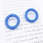 Treasure Jewels Camille Sea Blue Earrings