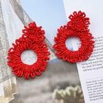 Treasure Jewels Earrings Stella Red