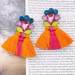 Treasure Jewels Cora Orange Earrings