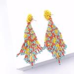 Treasure Jewels Tapestry Yellow Earrings