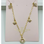 Treasure Jewels Smiley Party Necklace
