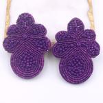 Treasure Jewels Earring Carly Purple