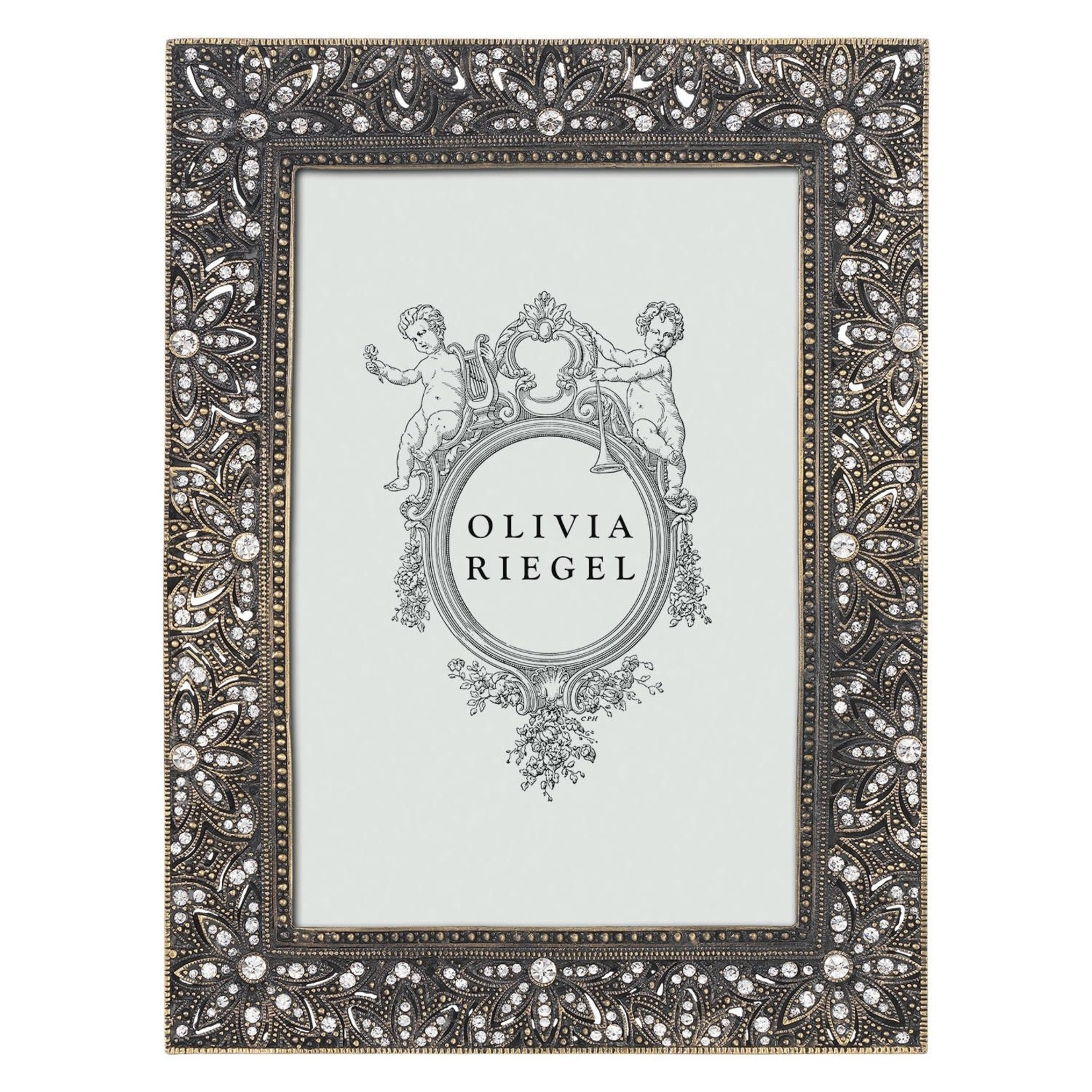 "Olivia Riegel Bronze Windsor 4"" x 6"" Frame"
