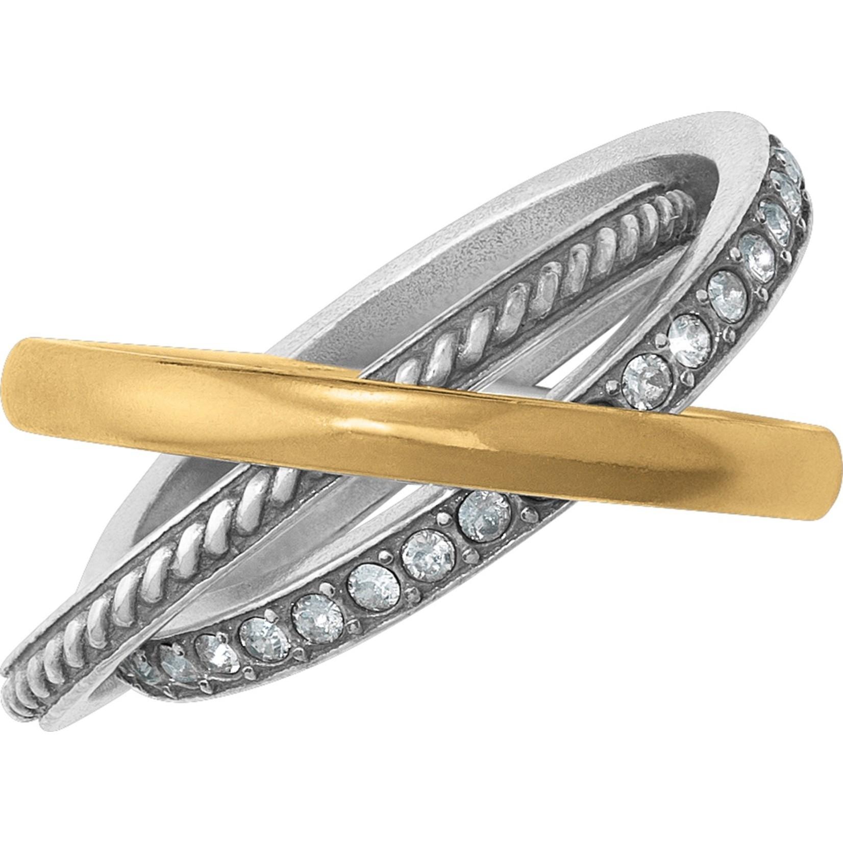 Brighton Neptune's Rings Trio Ring