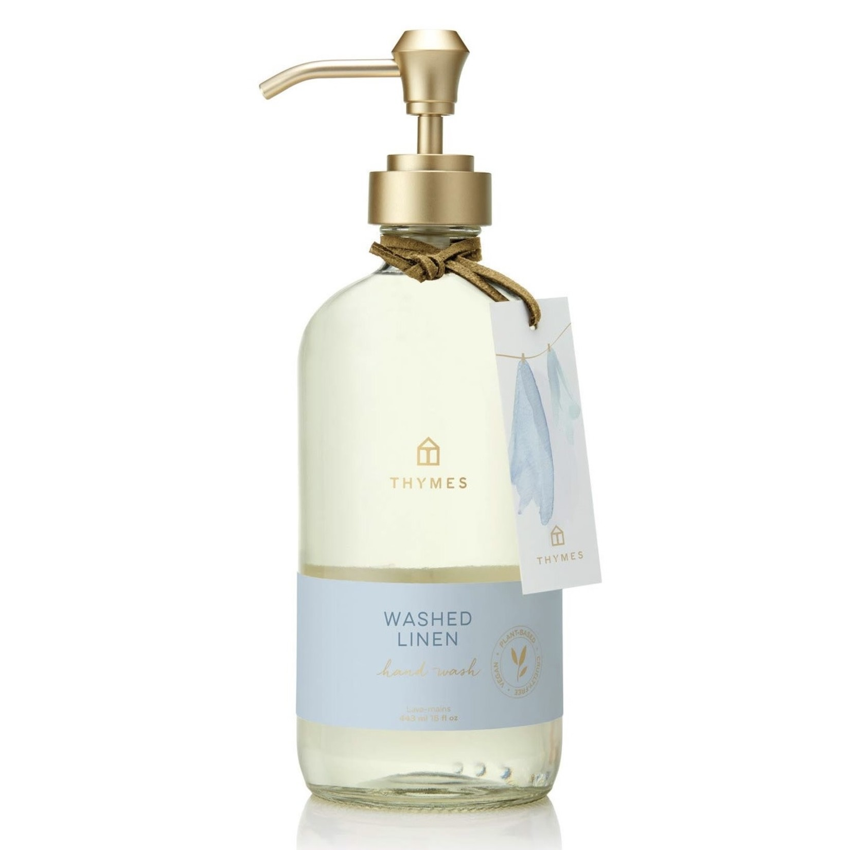 Thymes Washed Linen Hand Wash Large