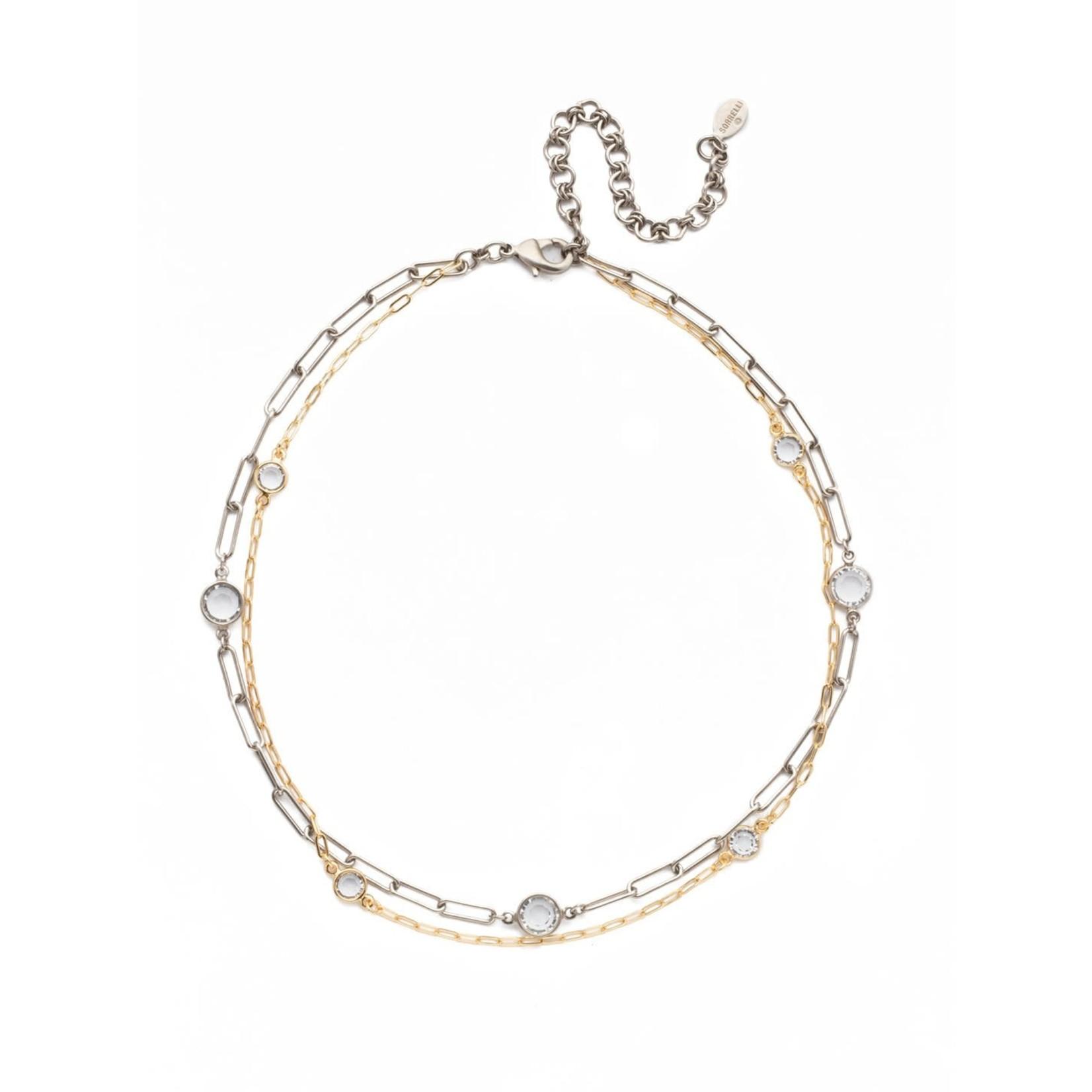 Sorrelli Violetta Tennis Necklace