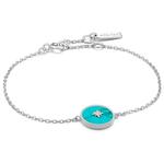Ania Haie Turquoise Emblem Bracelet