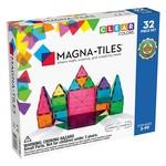 Magna-Tiles Clear Colors 32pc Set