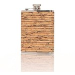 Brouk & Co Corked Flask Earth Stripes