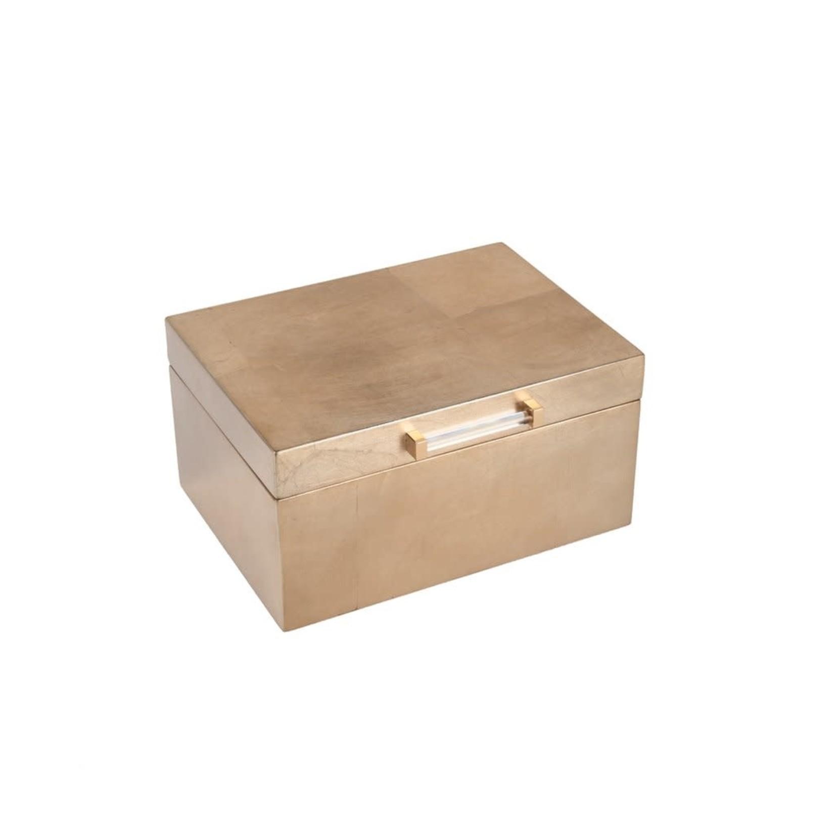 Brouk & Co Athena Jewelry Box Gold