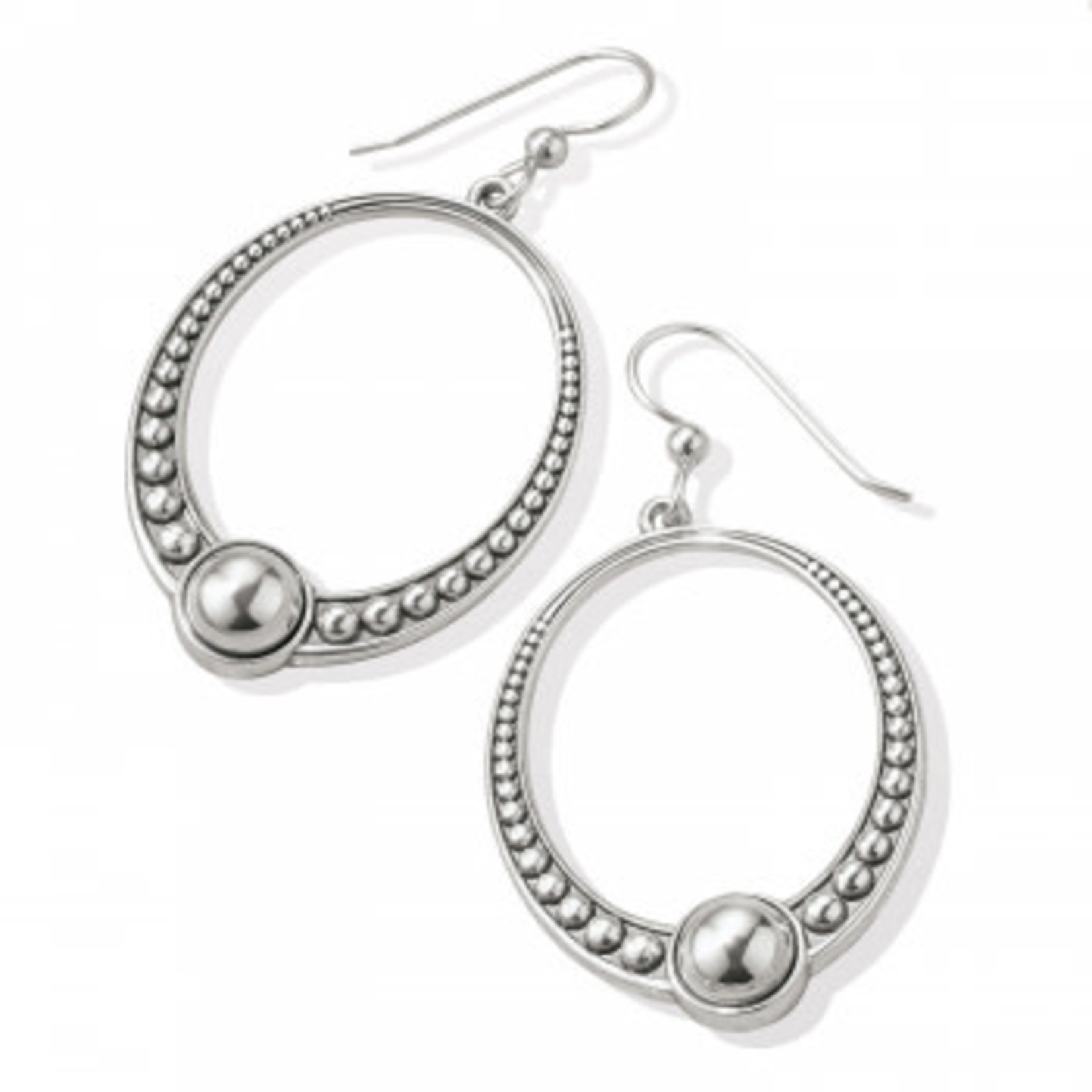 Brighton Pretty Tough Oval French Wire Earrings