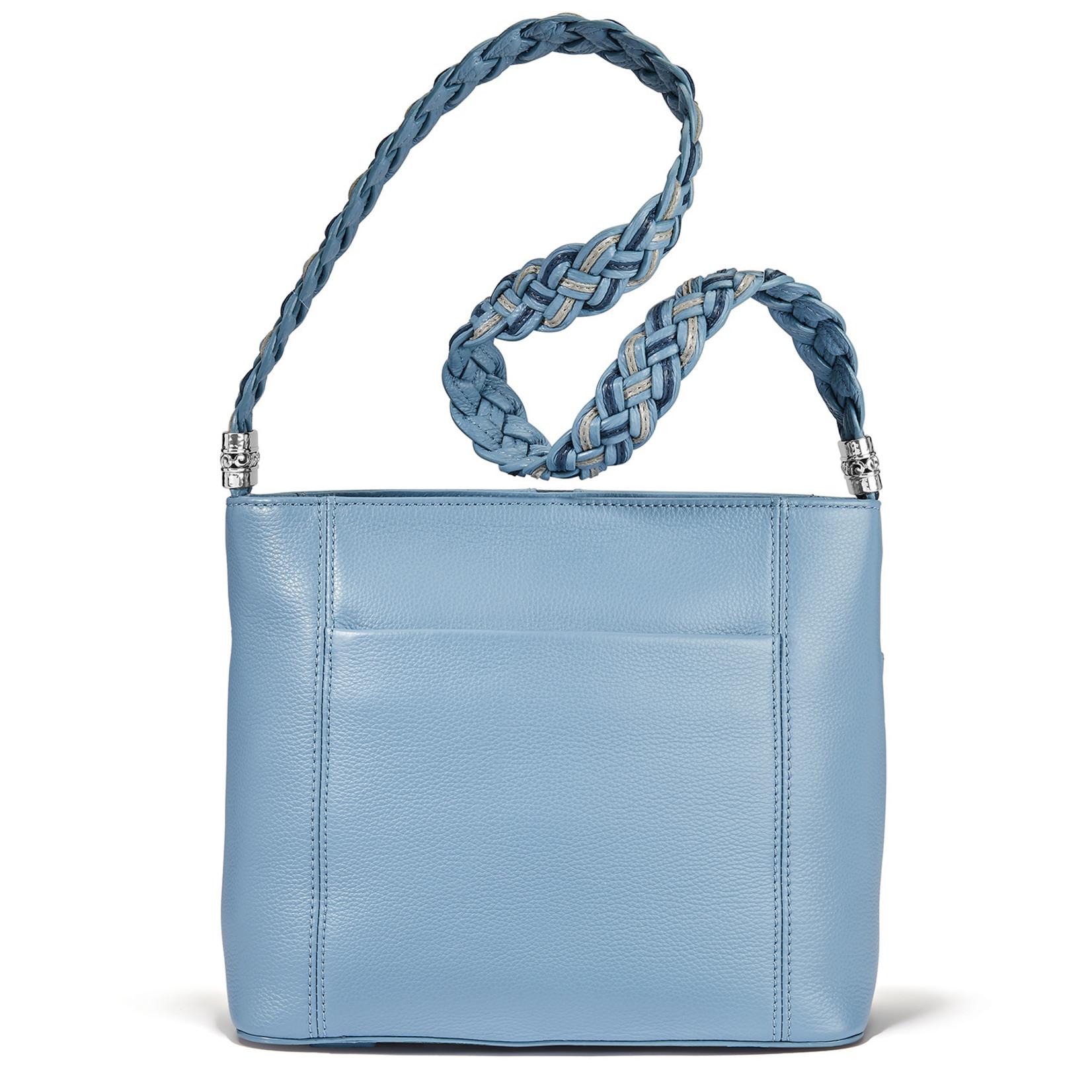Brighton Beaumont Square Bucket Bag Heaven Blue