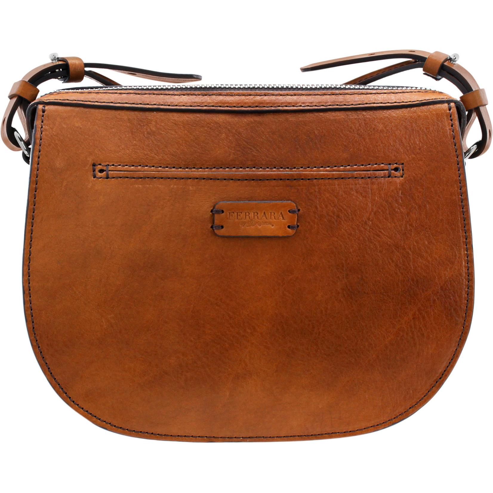 Brighton Bordo Saddle Bag Cognac