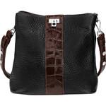 Brighton Joe Bucket Handbag Black/Chocolate