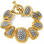 Brighton Ferrara Artisan Two Tone Bracelet