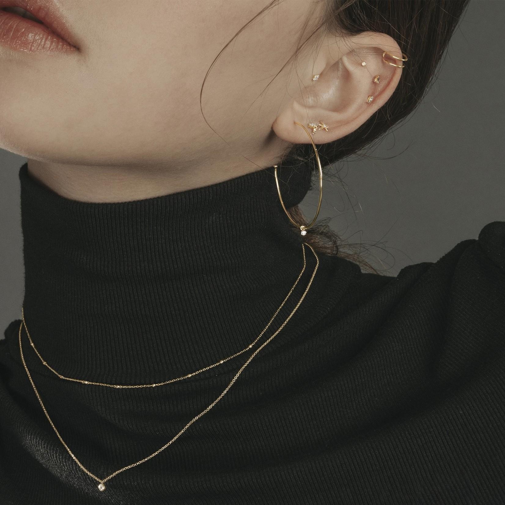 Aurelie Gi Bria Diamond Solitaire Pendant