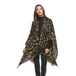 Ruana Wrap Leopard