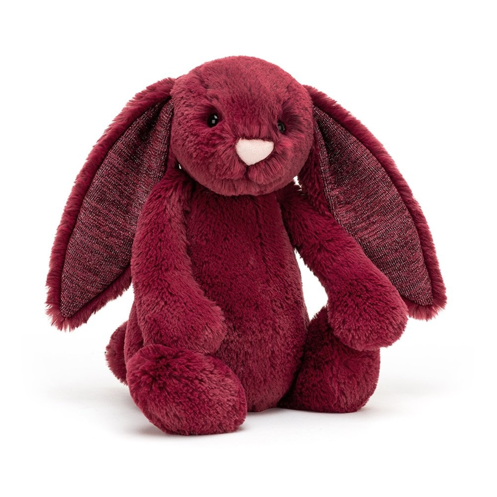 Jellycat Bashful Sparkly Cassis Bunny Medium