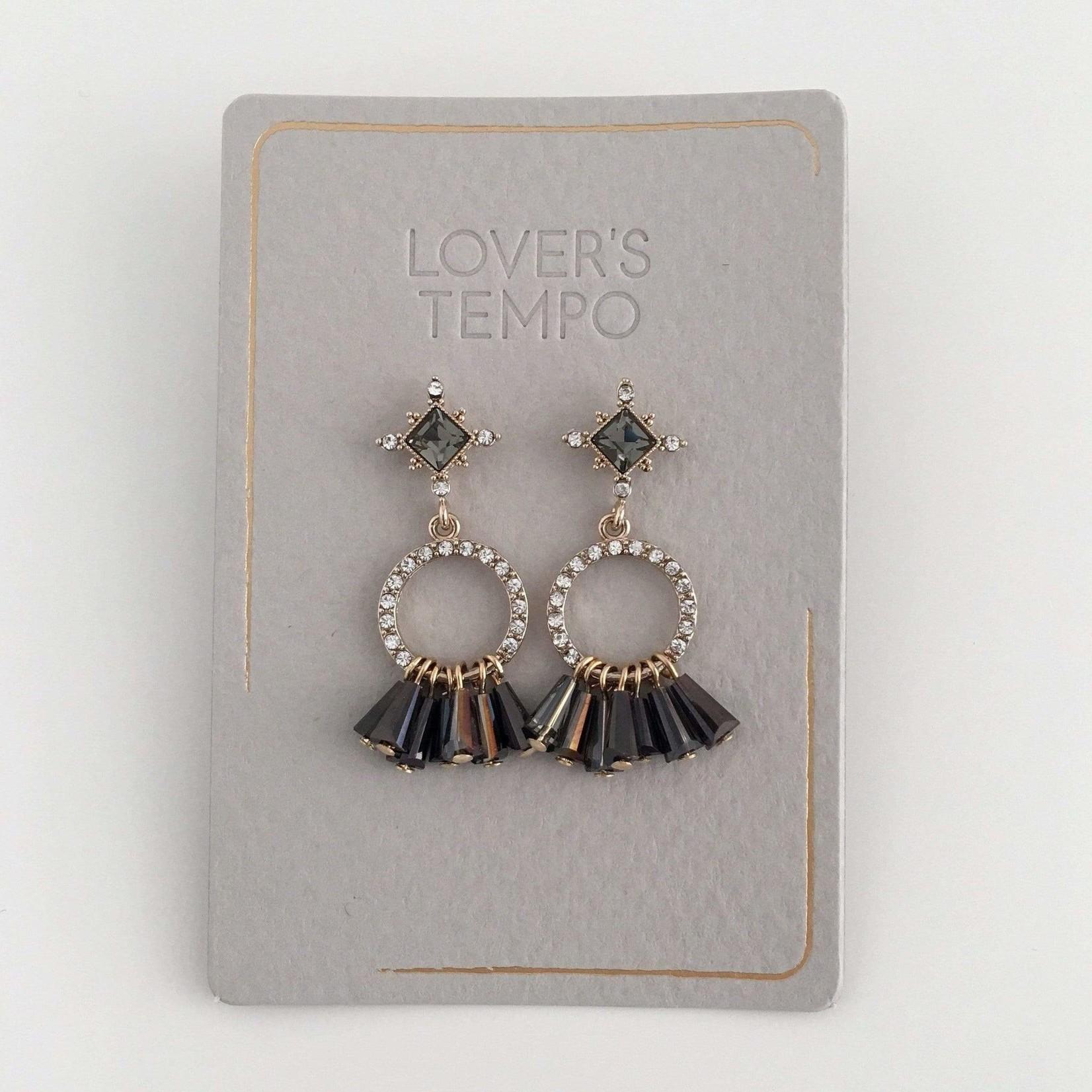 Lover's Tempo Jolene Drop Earrings Smoke