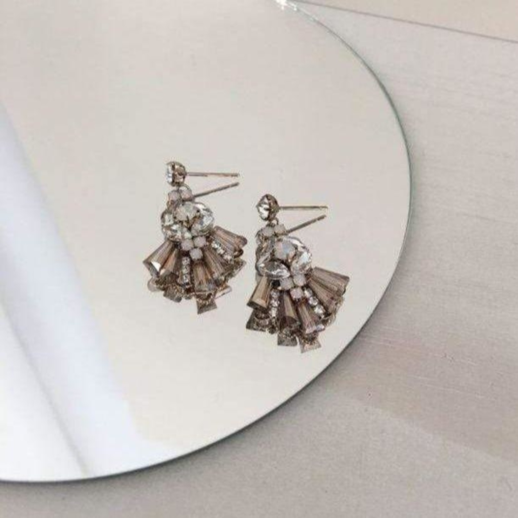 Lover's Tempo Rococo Drop Earrings Champagne