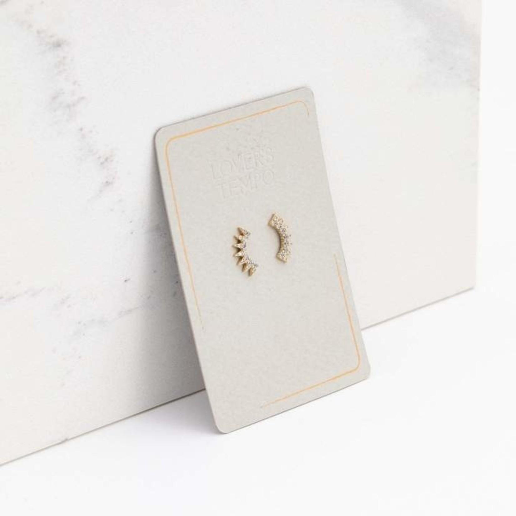 Lover's Tempo Nova Climber Earrings Gold