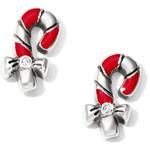 Brighton Christmas Candy Cane Mini Post Earrings