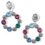 Brighton Elora Gems Cubist Post Drop Earrings