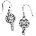 Brighton Pebble Dot Medali Reversible French Wire Earrings