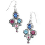 Brighton Elora Gems Cubist French Wire Earrings