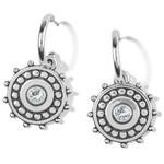 Brighton Pebble Dot Medali Reversible Hoop Earrings