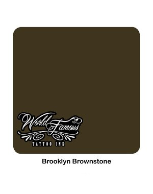 World Famous Ink World Famous Ink - Brooklyn Brownstone