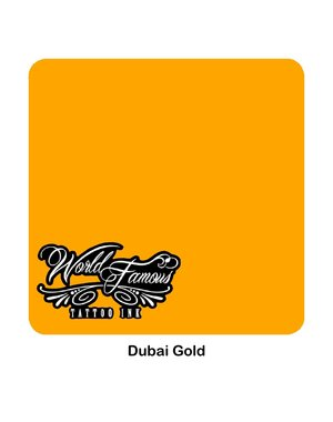World Famous Ink World Famous Ink - Dubai Gold