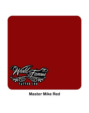 World Famous Ink World Famous Ink - Master Mike Red