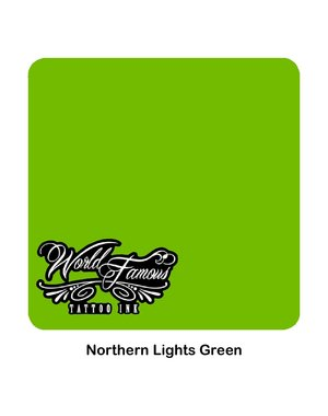 World Famous Ink World Famous Ink - Northern Lights Green