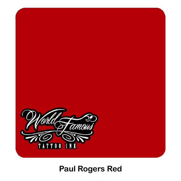 World Famous Ink World Famous Ink - Paul Rogers Red