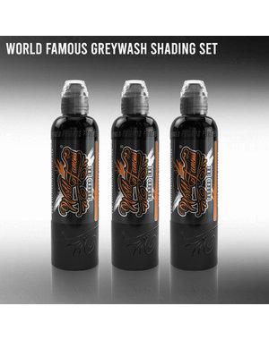World Famous Ink World Famous Ink - 3 Bottle Greywash Set