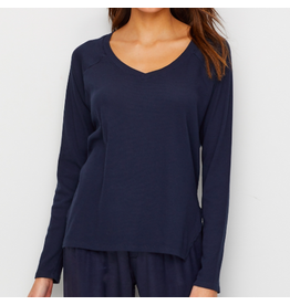 PJ Harlow PJH Frankie Long Sleeve Knit Top