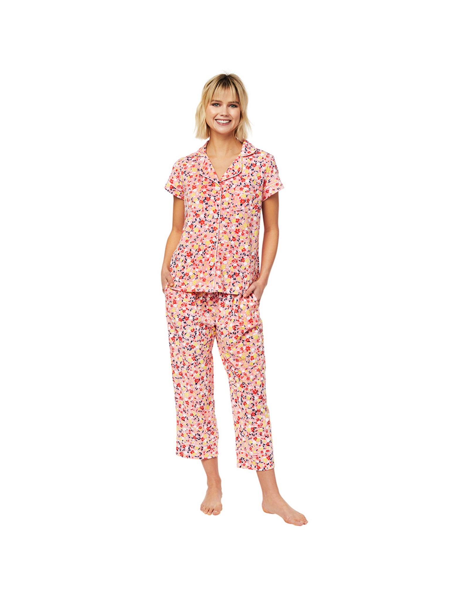 Cat's Pajamas Sunday Knit Capri