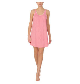 Kate Spade Salmon Rose Pin Dot Modal Chemise