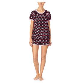 Kate Spade Mini Primrose Brushed Jersey Short PJ