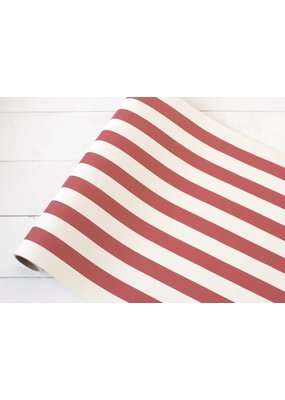 Hester and Cook Red Classic Stripe Runner