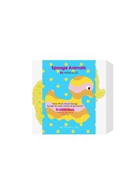 Spongelle Sponge Animals Duck (Yellow)