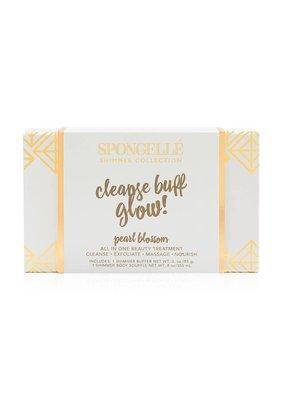 Spongelle Pearl Blossom Shimmer Gift Set