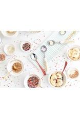 Ice Cream Scoop White Stripe