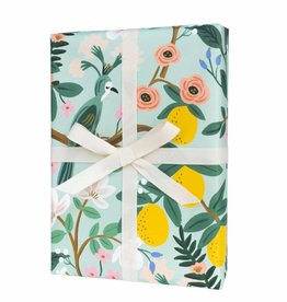 Rifle Paper Single Shanghai Garden Wrapping Sheet